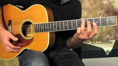Blues Guitar Lessons - Stormy Monday -  Style Blues Progression