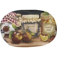 Shop for Achim Braided Mason Jars Polyester Rug (20