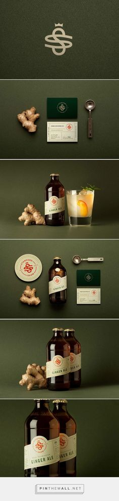 Stanford Shaw Beverage Branding and Packaging by Analogo | Fivestar Branding Agency – Design and Branding Agency & Curated Inspiration Gallery