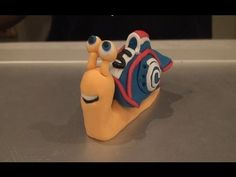 ▶ 'Turbo' the snail cake topper! (How to make) - YouTube