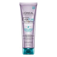 Discover sulfate-free shampoo for damaged and color-treated hair by L'Oréal Paris EverPure Damage Protect. Strengthens and protects from color aggressors.