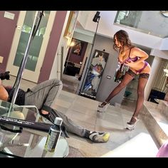can't get over how much fun this scene was…… @princeyahshua thank you for blowing my mind 😈 #BTS for @julesjordanx #platinumpussy2  Source
