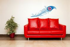 Hey, I found this really awesome Etsy listing at https://www.etsy.com/listing/69992506/peacock-feather-vinyl-wall-art-decal