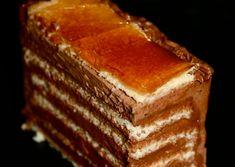 Dobos szelet - Süss Velem Receptek Tiramisu, Sweets, Ethnic Recipes, Food, Candy, Caramel, Gummi Candy, Essen, Goodies