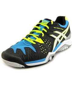 ASICS Asics Gel-Resolution 6   Round Toe Synthetic  Tennis Shoe'. #asics #shoes #sneakers