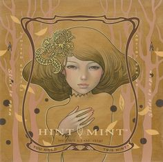 Hint Mint: Audrey Kawasaki Series - The Dieline -