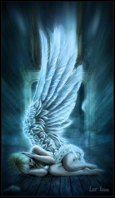 Un angel protege mi alma,no la dejes caer...
