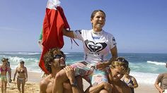 Sofía Mulánovich is a Peruvian #surfer. She is the first South American ever to win the World Title.