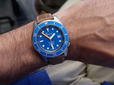 Squale 50 Atmos Ocean Blasted 1521-026 Diver's Watch Review