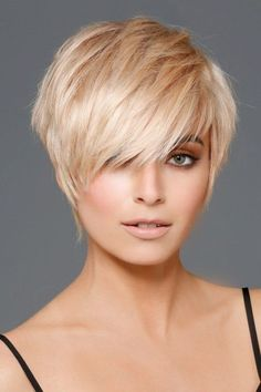 Short Hair Styles Easy, Short Hair Cuts, Curly Hair Styles, Short Pixie, Funky Short Hair, Short Choppy Hair, Shaggy Hair, Pixie Styles, Pixie Bob