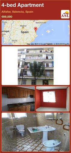 4-bed Apartment in Alfafar, Valencia, Spain ►€69,000 #PropertyForSaleInSpain