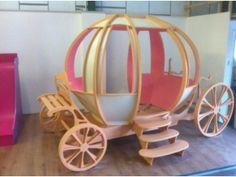 Kids bunk beds, princess castle bed, cinderella pumpkin bed, themed beds custom made for your kids Barking Picture 1