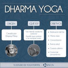 Practica Dharma Yoga desde internet: https://shri.tv/