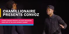 Former rapper Chamillionaire presents his new-video-messaging app at the 2018 UpFront summit. Read the news. Award Winner, Rapper, Presents, Product Launch, Messages, Shit Happens, Reading, News, Gifts