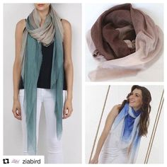 #Repost @ziabird with @repostapp  We love @richiami ombré scarves! #italianmade #handdyed #ombre #richiamiscarves #scarves #madeinitaly #fashionista #fashionable #fashionist #fashionph #fashionstyle #fashiongram #fashiondaily #instacool #instafashion - http://ift.tt/1HQJd81