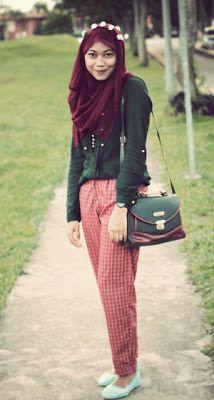 casual hijab fashion - Google Search