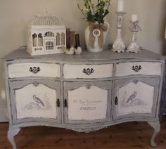 100 Awesome DIY Shabby Chic Furniture Makeover Ideas Crafts and DIY Ideas - March 10 2019 at Shabby Chic Mode, Shabby Chic Bedrooms, Shabby Chic Kitchen, Shabby Chic Style, Shabby Chic Decor, Shabby French Chic, Shabby Vintage, Trendy Bedroom, Refurbished Furniture