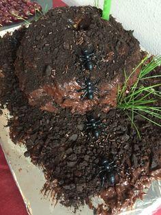 Ant-Man ant hill cake