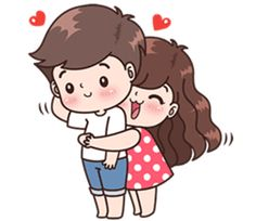 cute love cartoons This love for you, send your love to your couple. Its so cute gt; Cute Love Stories, Cute Love Pictures, Cute Cartoon Pictures, Cute Love Gif, Cartoon Pics, Cute Chibi Couple, Love Cartoon Couple, Cute Love Couple, Anime Love Couple