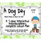 A Dog Day 7-Hour Complete Sub Plans Thematic Unit for Grades 5-6 Common Core  - This packet includes everything you need for a complete interdisciplinary interactive unit on dog breeds. I created this unit to leave with a sub f...