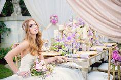 Hochzeit, decor, wedding, pink, white, purple