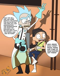 Rick and Morty in Team Fortress 2 #games #teamfortress2 #steam #tf2 #SteamNewRelease #gaming #Valve