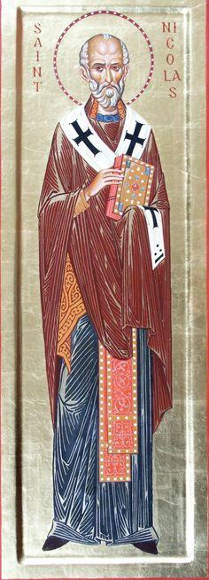 Icone de saint nicolas