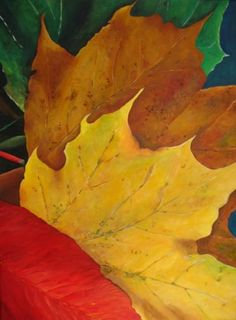 """""""Shades of Autumn"""" painting"""