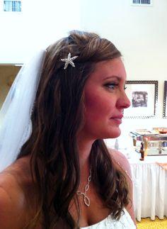 I love Lauren's seaside inspired hair pin!