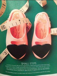 mini melissa shoes by vivienne westwood. adorable!