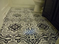 Our Lisboa Tile Stencil is a beautiful classic tile stencil design inspired by the Portuguese tiles, known as azulejos, that line the walls of Lisbon, Portugal. Use this pretty tile stencil on walls, Linoleum Flooring, Bathroom Flooring, White Flooring, Garage Flooring, Modern Flooring, Terrazzo Flooring, Rubber Flooring, Parquet Flooring, Painting Over Tiles