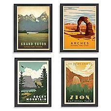 image of Americanflat National Parks Framed Wall Art