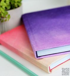 14. #Ombre Journals - 16 #Journals That Will Inspire All Your Best #Writing ... → #Lifestyle #Portable