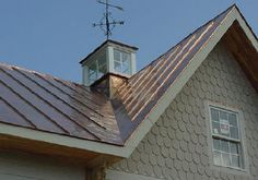 Copper Penny Roof Photos Melchers Green Snaplock Roofing