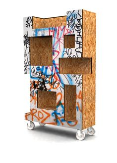 Check out the deal on Hackney Shelf at Eco First Art Osb Wood, Cool Furniture, Furniture Design, Dresser Shelves, Wood Plans, Dressers, Product Design, Planer, Wood Projects