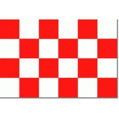 Noord-Brabantse vlag 20x30cm, op schepen vooral gebruikt als gastenvlag Materiaal pavillon met koord en lus rondom gezoomd. Topkwaliteit! Deze vlaggen passen perfect op een vlaggenstok van 35cm 40cm of 50cm