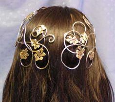 circlets   Our Ivy Style Circlets Inspired by Galadriel in The Lord of the Rings
