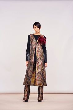 This New Italian Brocade Vest is Amazing...$349 Call To Order 239-403-3550 Email claudette@petuniasofnaples.com