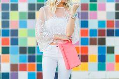 White Lace in La Jolla - Mckenna Bleu