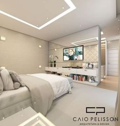 Closet Casal Pequeno Fechado 62 Ideas For 2019 Luxury Bedroom Design, Bedroom Closet Design, Girl Bedroom Designs, Home Room Design, Small Room Bedroom, Bedroom Sets, Home Bedroom, Home Interior Design, Bedroom Decor