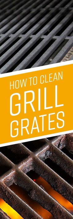 If your grill grates are covered in marinade splatter, burger grease and charred leftover chunks from last week's cookout, a good cleaning will not only help your barbecue grill function better, but improve the flavor of your food as well. Barbecue Grill, Grilling, Deep Cleaning, Cleaning Hacks, Clean Grill Grates, Snack Hacks, Game Day Snacks, Grease, Clean House