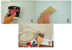 How to paint like a pro. I did not know you should caulk first!