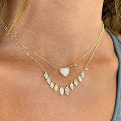 Opalicious! ✨🔮🤍 #lovelindys . . . . . #octobervibes #anopaladay #octoberbirthstone #opallayers #jotd #magical #neckmess #heart #fallfavorites #lindysjewelry #lindys #meirat #ameliaisland #fernandinabeach #spookysparkle #treatyourself Amelia Island, Meira T, Fernandina Beach, October Birth Stone, Custom Jewelry, Jewelry Stores, Turquoise Necklace, Opal, Fine Jewelry