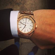 Audemars Piguet Royal Oak Full Rose Gold #watches #new #used #rolex…