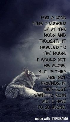 The wolf – Fit for Fun % Wolf Pack Quotes, Wolf Qoutes, Lone Wolf Quotes, Animal Quotes, Dog Quotes, True Quotes, Movie Quotes, Wolf Spirit Animal, Wolf Artwork