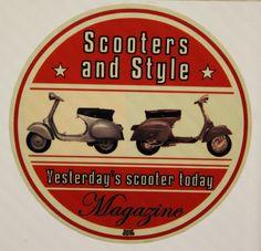 scooter#vespa#lambretta#stickers#scooters & style magazine