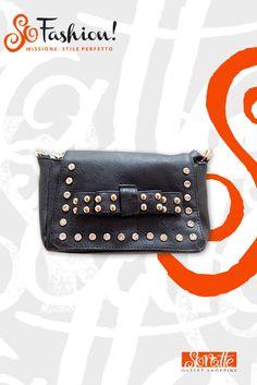 Borsetta con borchie ZUIKI, Prezzo retail €19,95 - Prezzo outlet €12,95
