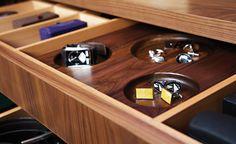watch storage drawer