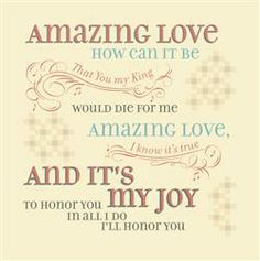 Amazing Love Plaque (Timeless) - Lyrics for Life by Dayspring #homedecor
