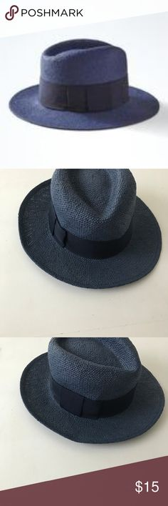 Banana Republic Panama Hat Panama Hat, Navy!   75% Paper, 25% Polyester, Exclusive of Decoration Banana Republic Accessories Hats